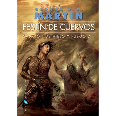 Cancion de Hielo y Fuego IV - Festin de Cuervos (Bolsillo)