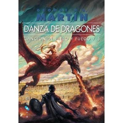 Cancion de Hielo y Fuego V - Danza de Dragones (Rústica)