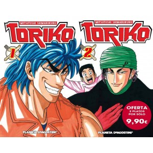 Toriko nº 1 y nº 02