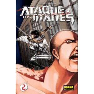 Ataque a los Titanes nº 02