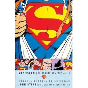 Grandes Autores de Superman: John Byrne - Superman: El Hombre de Acero nº 01