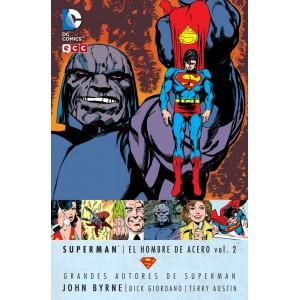 Grandes Autores de Superman: John Byrne - Superman: El Hombre de Acero nº 02