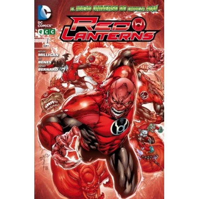 Red Lanterns nº 01