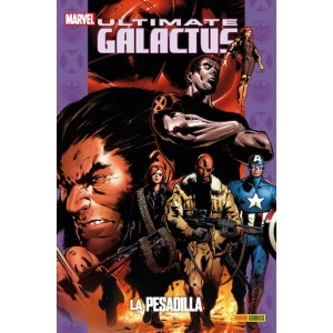 Coleccionable Ultimate 18 Galactus 1: La pesadilla