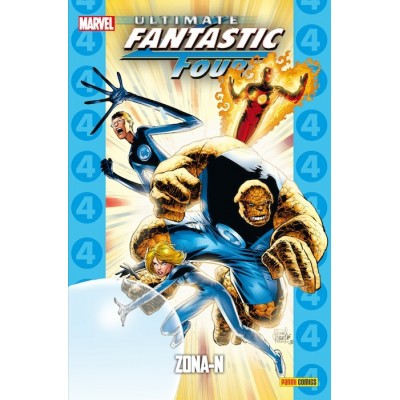 Coleccionable Ultimate nº 21 - Fantastic Four: Zona-N