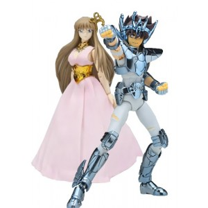 Saint Seiya Myth Cloth - Saori Kido & Seiya de Pegaso Broken Original Color