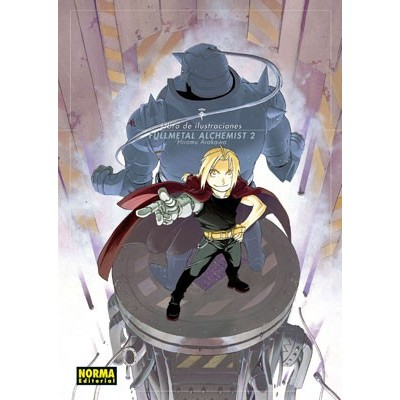 Libro de ilustraciones Fullmetal Alchemist 2