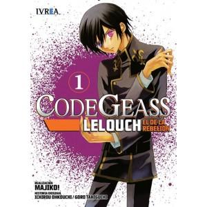 Code Geass: Lelouch, el de la Rebelión Nº 01