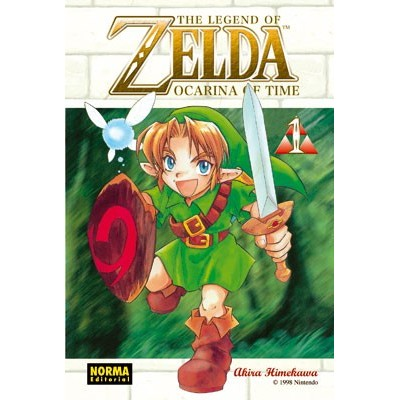 The Legend of Zelda Nº 01 - Ocarina of Time Vol.1