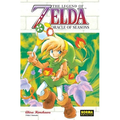 The Legend of Zelda Nº 06 - Oracle of Seasons