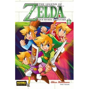 The Legend of Zelda Nº 08 - Four Swrods Adventures Vol. 1