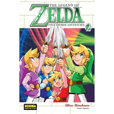 The Legend of Zelda Nº 09 - Four Swrods Adventures Vol. 2