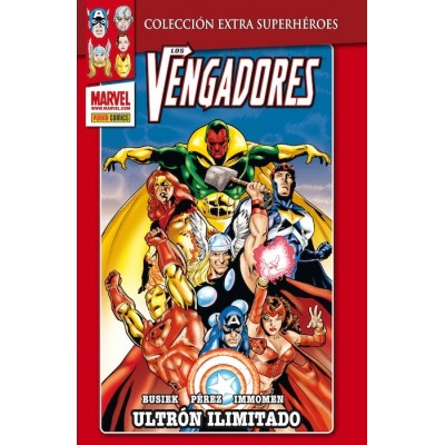 Marvel Coleccion Extra Superheroes: Thanos - El fin del Mundo