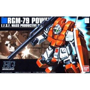 Maqueta 1/144 RGM-79 Powered GM
