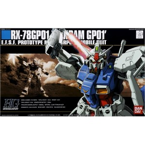 Maqueta 1/144 RX-78GP01 Gundam GP01