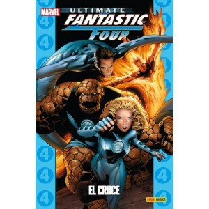 Coleccionable Ultimate 26 Fantastic Four 4: El cruce
