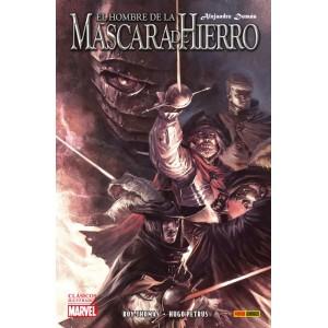 Clásicos Ilustrados Marvel. El Hombre de la Mascara de Hierro