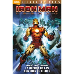 100% Marvel: Iron Man - Legado nº 01