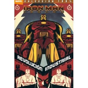100% Marvel: Iron Man - Legado nº 02 Revolucion Industrial