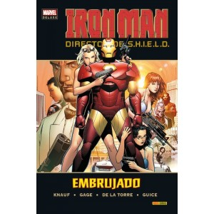 Marvel Deluxe. Iron Man: Director de SHIELD 2 Embrujado