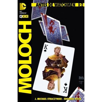 Antes de Watchmen - Moloch nº 01
