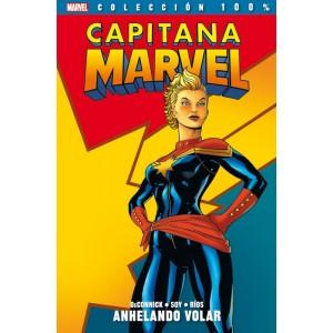 Marvel Coleccion 100% Capitana Marvel nº 01 - Anhelando Volar