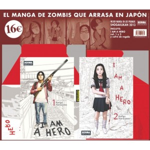 Pack I am a Hero nº 01 y 02