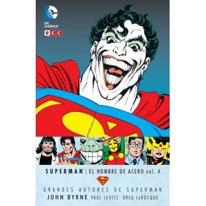 Grandes Autores de Superman: John Byrne - Superman: El Hombre de Acero nº 04