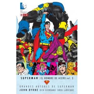 Grandes Autores de Superman: John Byrne - Superman: El Hombre de Acero nº 03