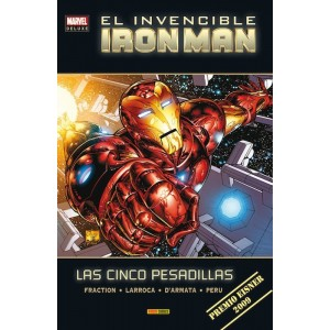 Marvel Deluxe. El Invencible Iron Man 1 Las cinco pesadillas