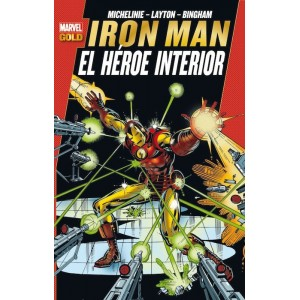 Marvel Gold - Iron Man: El Heroe Interior