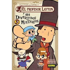 El Profesor Layton y Sus Divertidos Misterios nº 02