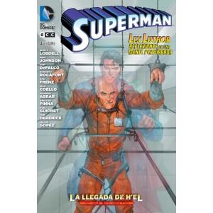 Superman - La Llegada de H´el nº 01