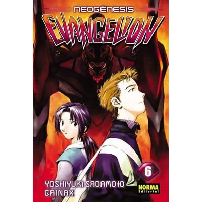 Neon Genesis Evangelion Nº 06