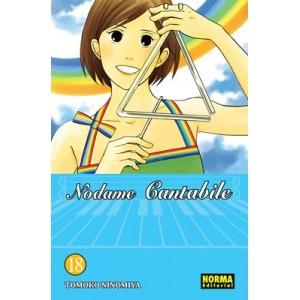Nodame Cantabile Nº 18