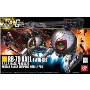 Maqueta 1/144 RB-79 BALL Twin Set