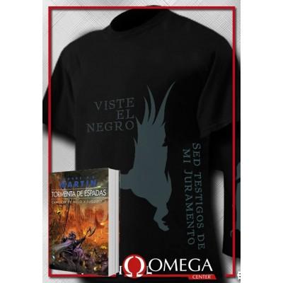 Canción de Hielo y Fuego III - Tormenta de Espadas (Rústica) + Camiseta White Walker