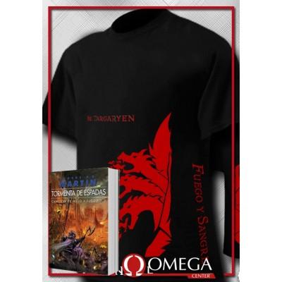 Canción de Hielo y Fuego III - Tormenta de Espadas (Rústica) + Camiseta Viste el Negro