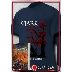 Canción de Hielo y Fuego III - Tormenta de Espadas (Rústica) + Camiseta Stark v.2