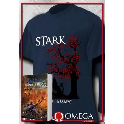 Canción de Hielo y Fuego III - Tormenta de Espadas (Rústica) + Camiseta Stark