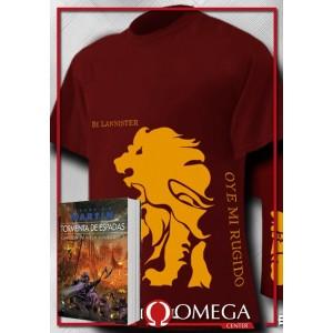 Canción de Hielo y Fuego III - Tormenta de Espadas (Rústica) + Camiseta Lannister