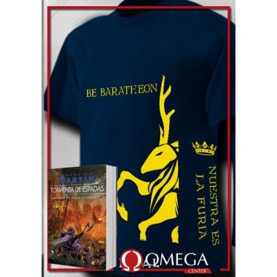 Canción de Hielo y Fuego III - Tormenta de Espadas (Rústica) + Camiseta Greyjoy