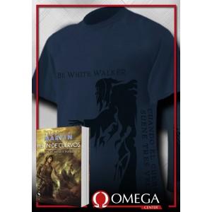 Canción de Hielo y Fuego IV - Festín de Cuervos (Rústica) + Camiseta White Walker