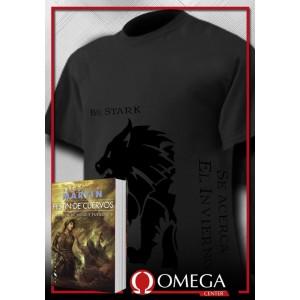 Canción de Hielo y Fuego IV - Festín de Cuervos (Rústica) + Camiseta Viste el Negro