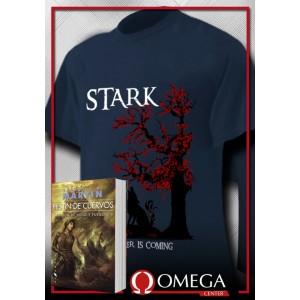 Canción de Hielo y Fuego IV - Festín de Cuervos (Rústica) + Camiseta Stark v.2