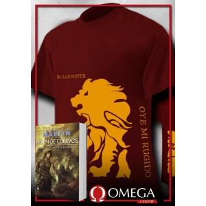 Canción de Hielo y Fuego IV - Festín de Cuervos (Rústica) + Camiseta Stark