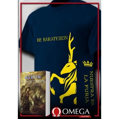 Canción de Hielo y Fuego IV - Festín de Cuervos (Rústica) + Camiseta Lannister