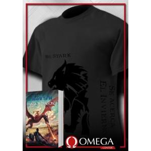 Canción de Hielo y Fuego V - Danza de Dragones (Rústica) + Camiseta Viste el Negro