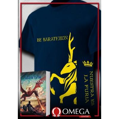 Canción de Hielo y Fuego V - Danza de Dragones (Rústica) + Camiseta Lannister