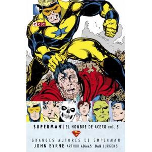 Grandes Autores de Superman: John Byrne - Superman: El Hombre de Acero nº 05
